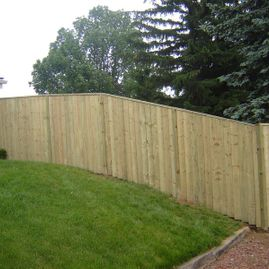 fencing with garden