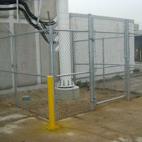 commercial close chain fence