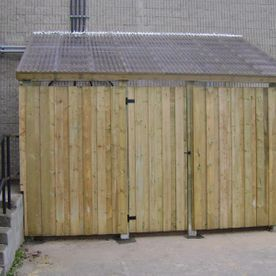Commercial Wood Fence