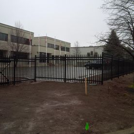 commercial ornamental fence with factory