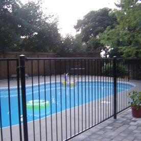 fencing with pool