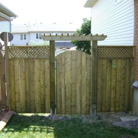 residential fencing gate